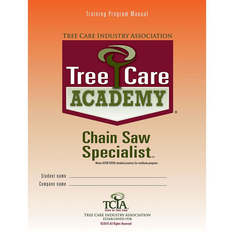 TCIA Tree Care Academy Chainsaw Specialist