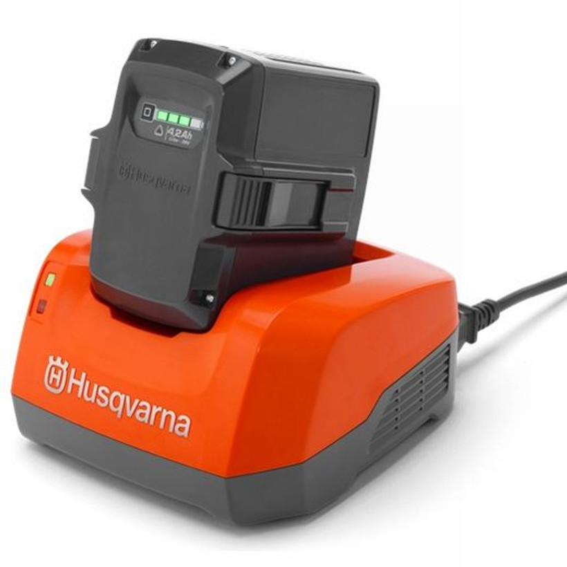 Husqvarna Quick Charge 330W Battery Charger (Battery Not included)
