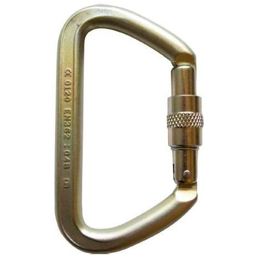 ISC Small Iron Wizard Screw Gate Carabiner