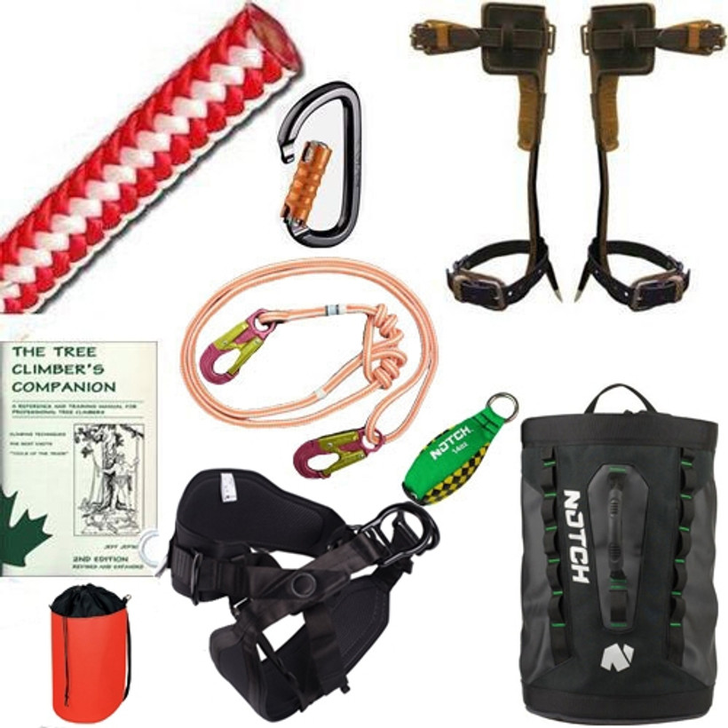 Saddle & Spurs Climbing Kit