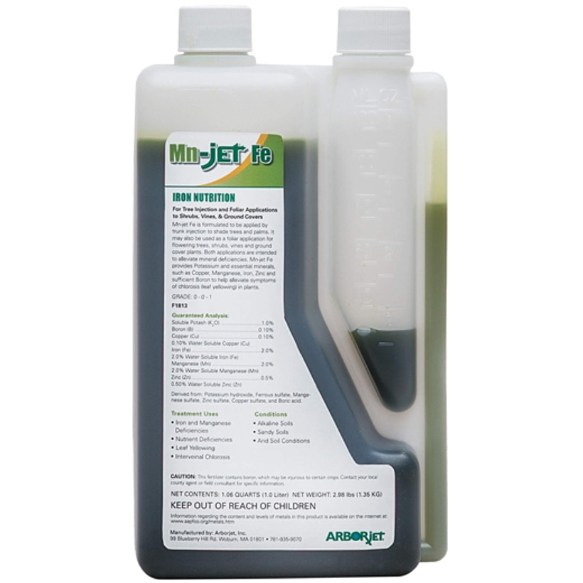 ARBORjet Mn-jet Fe Injectable Micronutrient