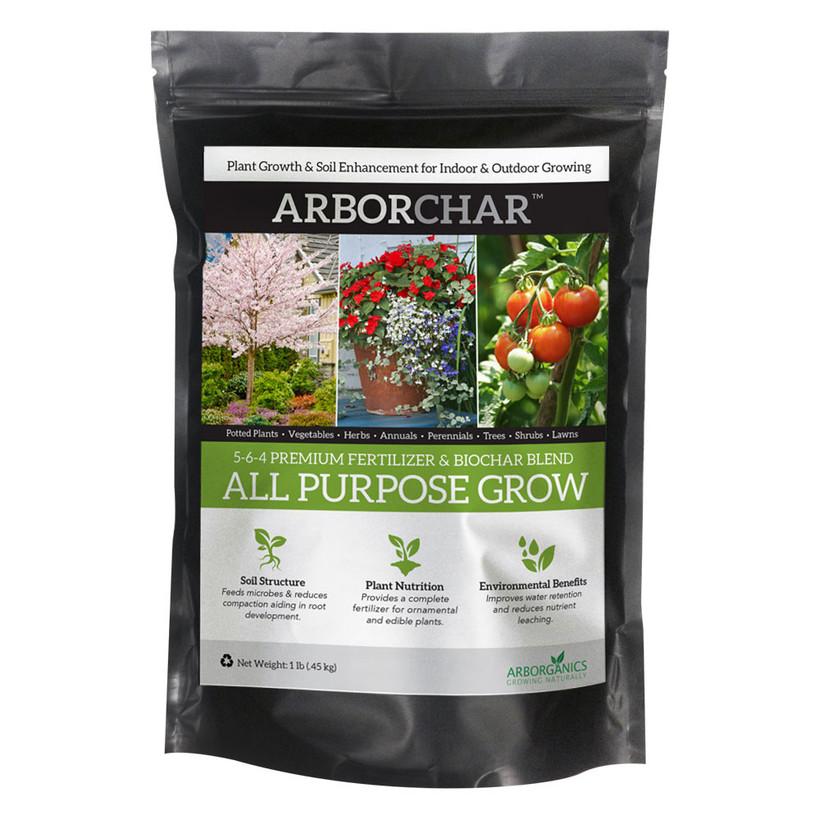 Arborjet ARBORChar All Purpose Grow - 1lb