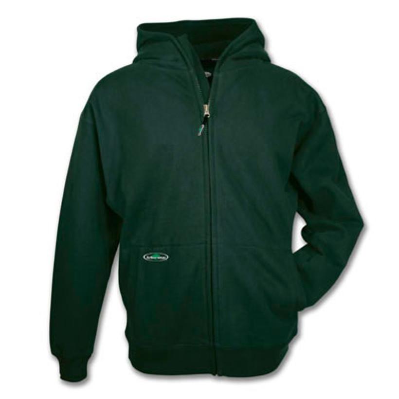 Arborwear Double Thick Full Zip Sweatshirt Forest Green-M
