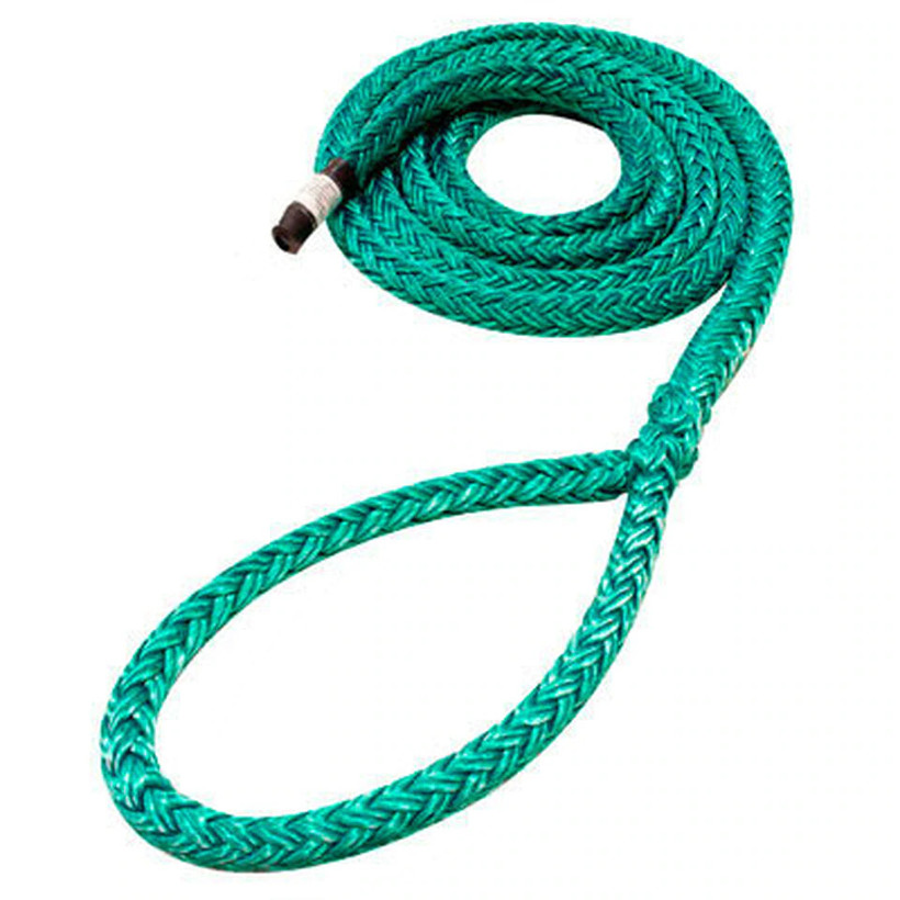 Rope Logic 3/4 Dead Eye Sling - 20' Sling Green Tenex