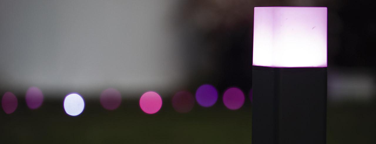LED Smart Post Lights