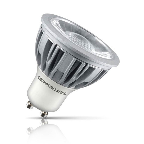 Crompton Lamps Dimmable LED GU10 Spotlight 5W Daylight 45° Image 1