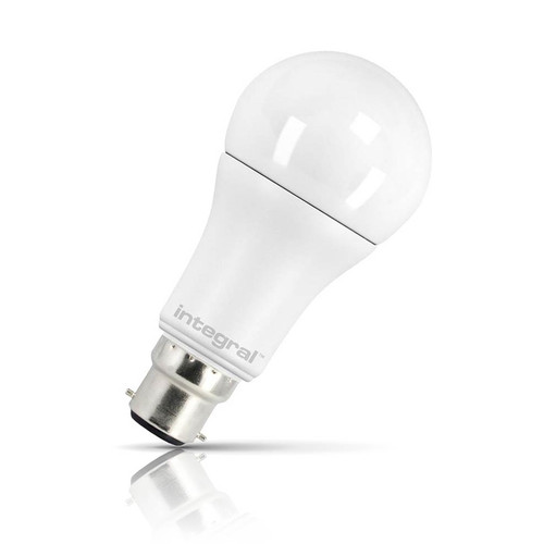 Integral LED Dimmable LED GLS 12W B22 Warm White Opal Image 1