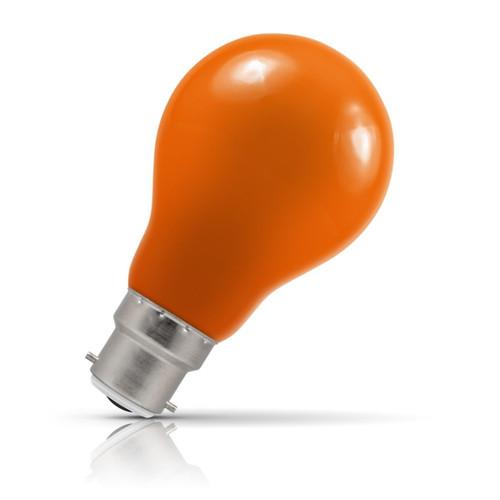 Crompton Lamps LED GLS 1.5W B22 IP65 Amber Image 1