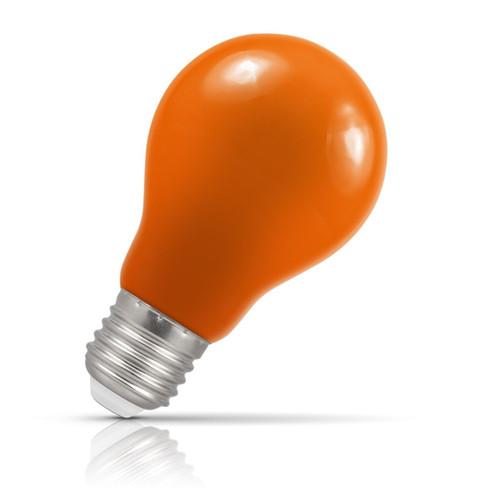Crompton Lamps LED GLS 1.5W E27 IP65 Amber Image 1