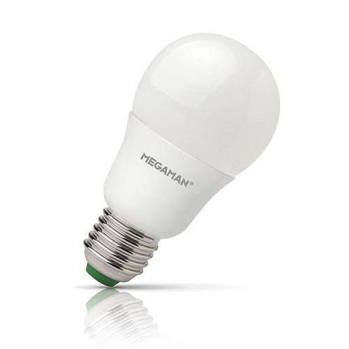 Megaman LED GLS 5.5W E27 Warm White Opal Image 1