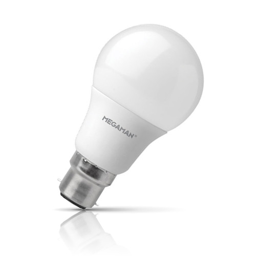 Megaman LED GLS 5.5W B22 Warm White Opal Image 1