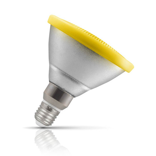 Crompton Lamps LED PAR38 Reflector 13W E27 IP65 Yellow 30° Prismatic Image 1