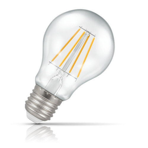 Crompton Lamps Dimmable LED GLS 7.5W E27 Filament Warm White Clear (60W Eqv) Image 1