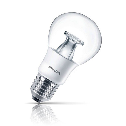 Philips Dimmable LED GLS 6W E27 Master Warm White Clear Image 1