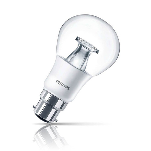 Philips Dimmable LED GLS 6W B22 Master Warm White Clear Image 1