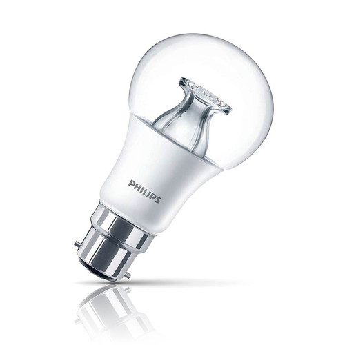 Philips Dimmable LED GLS 8.5W B22 Master Warm White Clear Image 1