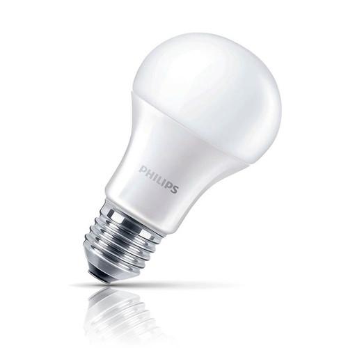Philips LED GLS 11W E27 CorePro Warm White Opal Image 1