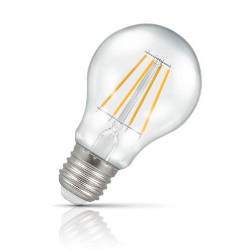 Crompton Lamps Dimmable LED GLS 5W E27 Filament Warm White Clear (40W Eqv) Image 1