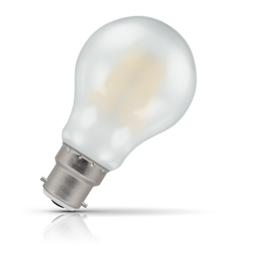 Crompton Lamps Dimmable LED GLS 7.5W B22 Filament Warm White Pearl (60W Eqv) Image 1