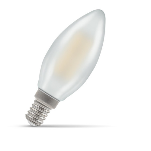 Crompton Lamps LED Candle 4W E14 Filament Warm White Pearl (40W Eqv) Image 1