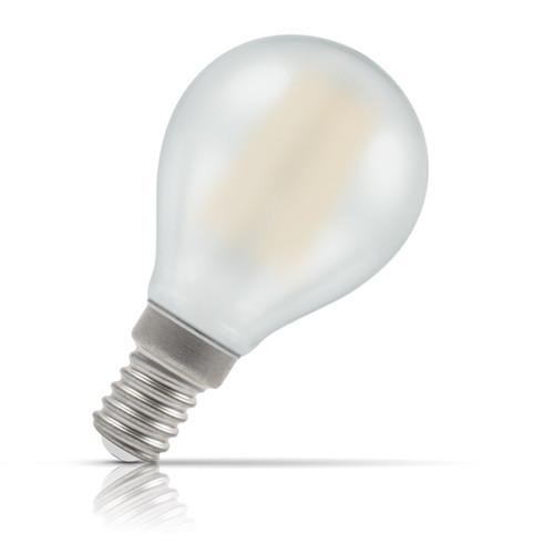 Crompton Lamps LED Golfball 4W E14 Filament Warm White Pearl (40W Eqv) Image 1