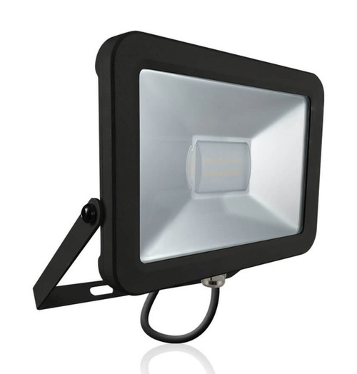Phoebe LED Floodlight 20W Atlas Cool White 110° Black IP66 Image 1