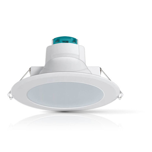 Phoebe LED Downlight 14W Corinth Warm White 100° Diffused White Image 1