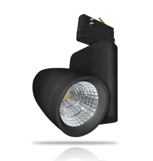 Phoebe LED Track Light 35W Ares Cool White 24° Black Image 1