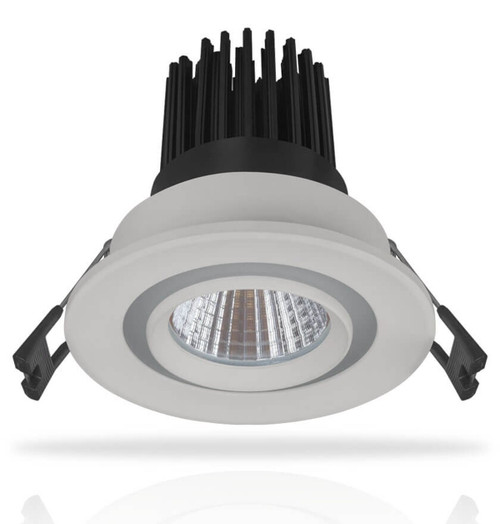 Phoebe LED Downlight 12W Hera Dual Warm White + Daylight 24° White Image 1