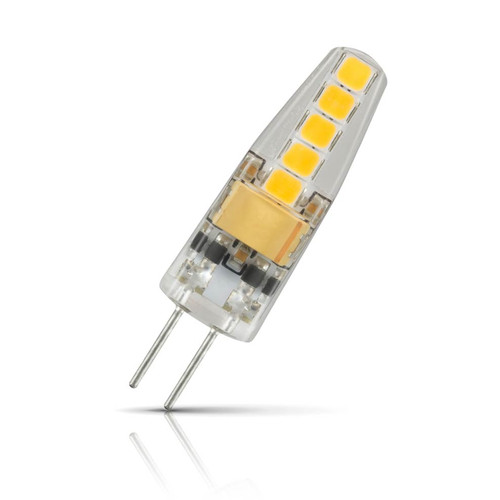 Crompton Lamps LED G4 Capsule 2W 12V Warm White Clear (10W Eqv) Image 1