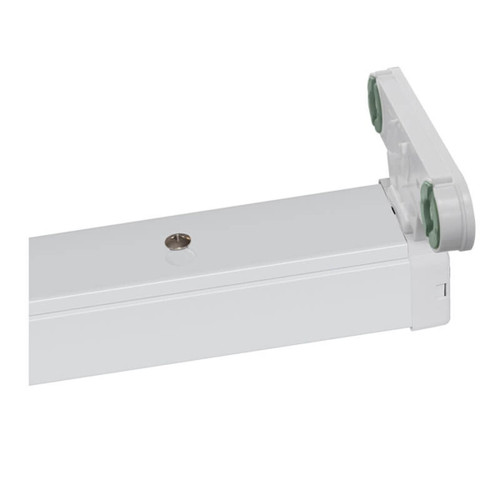 Phoebe LED 5ft Twin T8 Batten Photius (LED T8 Ready) White Image 1
