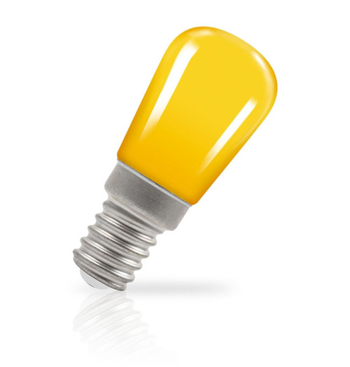 Crompton Lamps LED Pygmy 1.3W E14 Coloured IP65 Yellow Image 1