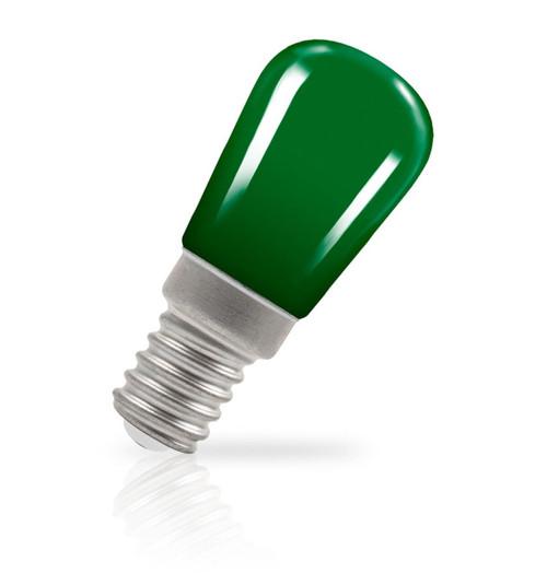 Crompton Lamps LED Pygmy 1.3W E14 Coloured IP65 Green Image 1