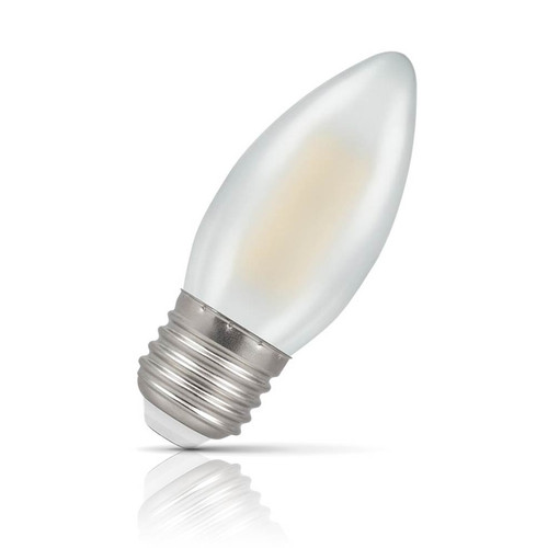 Crompton Lamps Dimmable LED Candle 5W E27 Filament Warm White Pearl (40W Eqv) Image 1