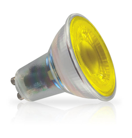 Crompton Lamps LED GU10 Spotlight 4.5W Yellow 35° Image 1