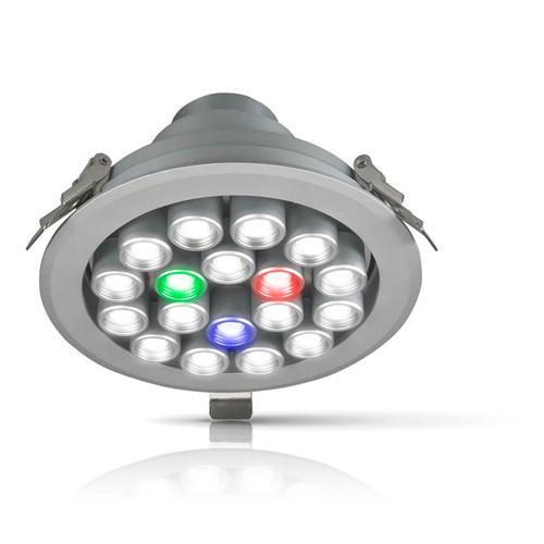 Phoebe LED Jewellery Display 19W 24V RotatorSpot Daylight 20° Aluminium Image 1