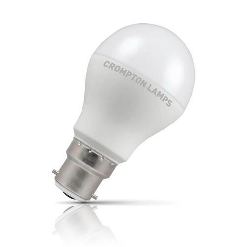 Crompton Lamps LED GLS 9.5W B22 Dusk Til Dawn Warm White Opal (60W Eqv) Image 1