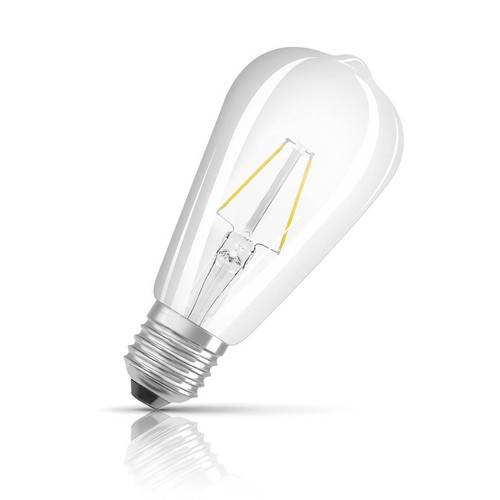 Osram LED ST64 4.5W E27 Parathom Filament Warm White Clear Image 1