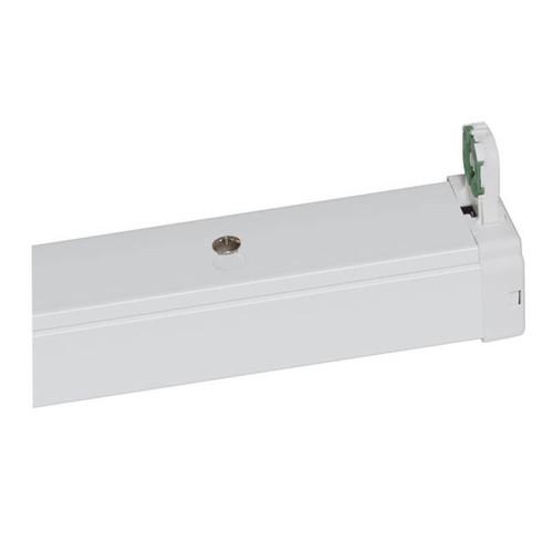 Phoebe LED 4ft Single T8 Batten Photius (LED T8 Ready) White Image 1