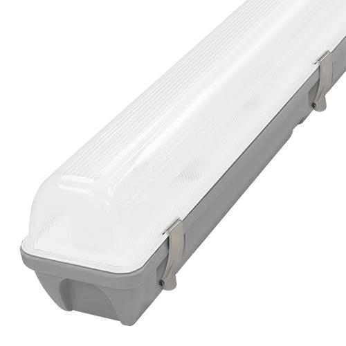 Phoebe LED 4ft IP65 Fitting 20W Manto 2 Sensor Cool White 120° Non-Corrosive Image 1