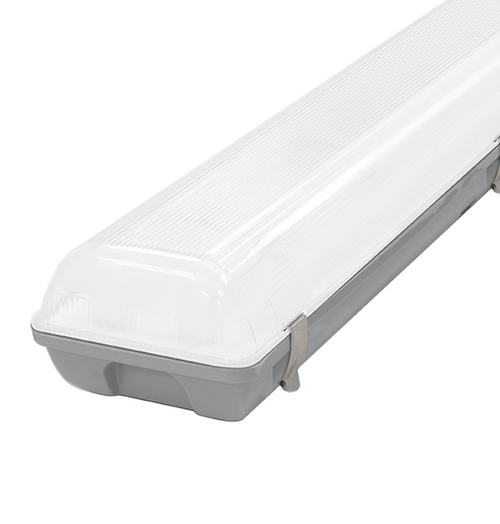 Phoebe LED 4ft IP65 Fitting 40W Manto 2 Cool White 120° Non-Corrosive Image 1