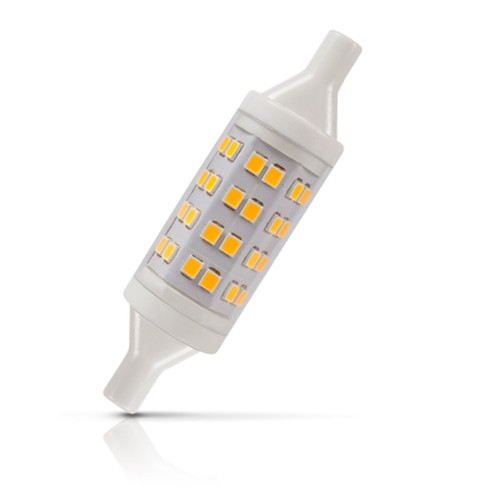 Crompton Lamps LED 78mm Linear 6W R7s Warm White Clear (50W Eqv) Image 1