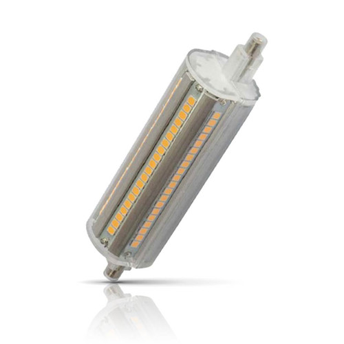 Prolite Dimmable LED 118mm Linear 14W R7s Warm White Clear Image 1