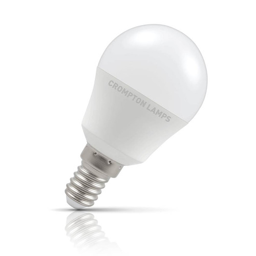 Crompton Lamps LED Golfball 5.5W E14 Warm White Opal (40W Eqv) Image 1