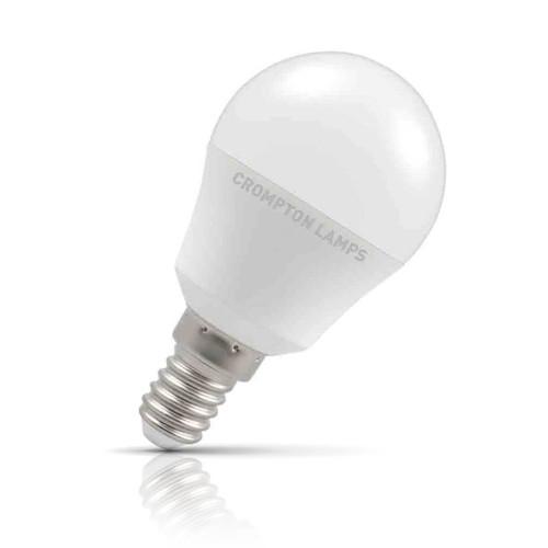 Crompton Lamps LED Golfball 5.5W E14 Daylight Opal (40W Eqv) Image 1