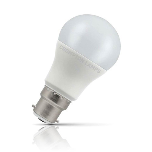 Crompton Lamps LED GLS 5.5W B22 Warm White Opal (40W Eqv) Image 1