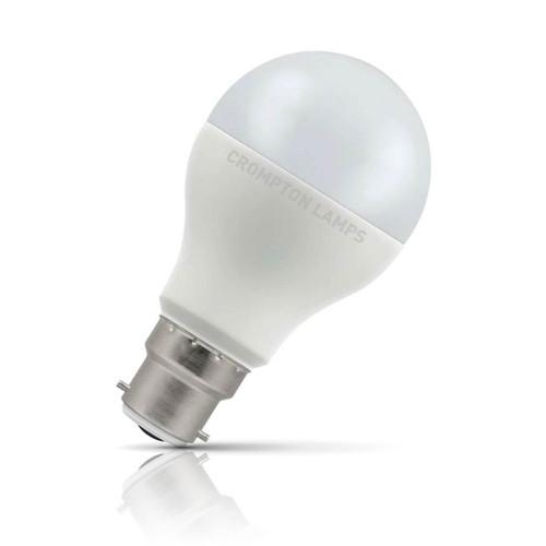 Crompton Lamps LED GLS 8.5W B22 Warm White Opal (60W Eqv) Image 1