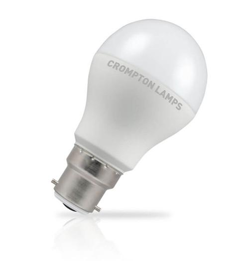 Crompton Lamps LED GLS 8.5W B22 Cool White Opal (60W Eqv) Image 1