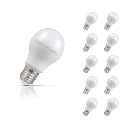 Crompton Lamps LED GLS 8.5W E27 (10 Pack) Cool White Opal (60W Eqv) Image 1