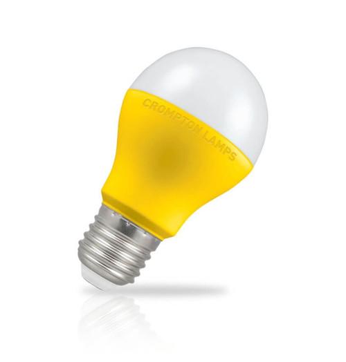 Crompton Lamps LED GLS 9W E27 110V Warm White Opal Yellow (60W Eqv) Image 1
